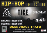 Flyer Hip-Hop Konzert