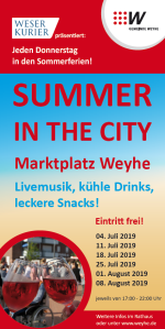 Flyer Summer in the City 2019